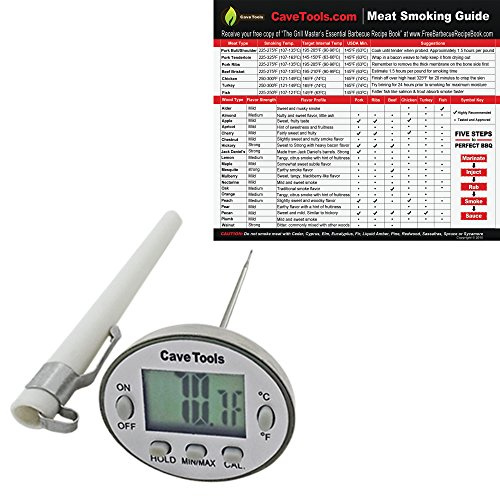 Cooking Thermometer Meat Smoking Guide Best Wood