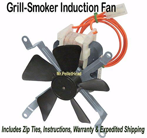 New Traeger Pellet Smoker Grill Induction Fan Motor