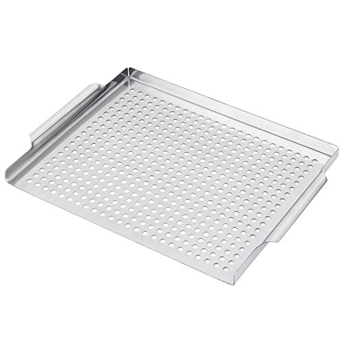 Liantral Grill Pan Grilling Grid 11 8 Quot X15 7 Quot Grill Topper