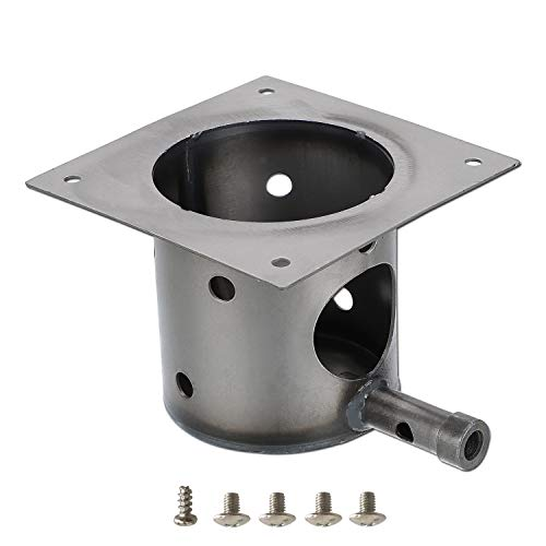 Qulimetal Fire Burn Pot Replacement Parts For Traeger And